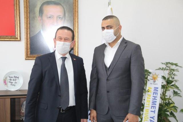 """İŞ ADAMI TOĞLUK'TAN ÖZTÜRK'E """"HAYIRLI OLSUN"""" ZİYARETİ"""