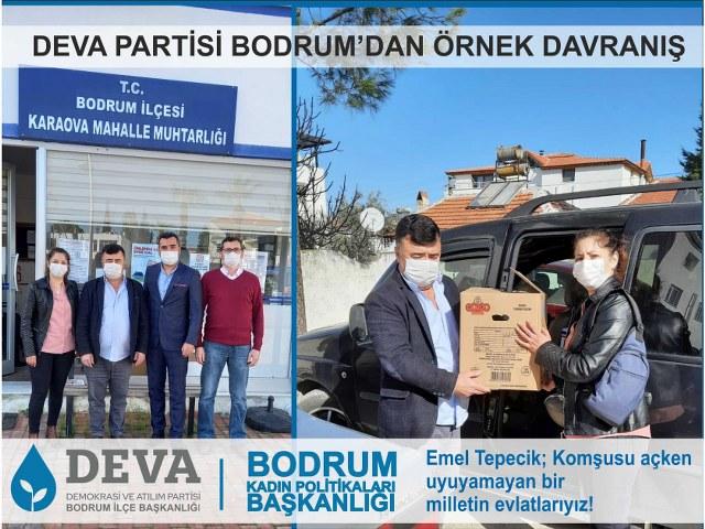 DEVA BODRUM 'DAN ÖRNEK DAVRANIŞ