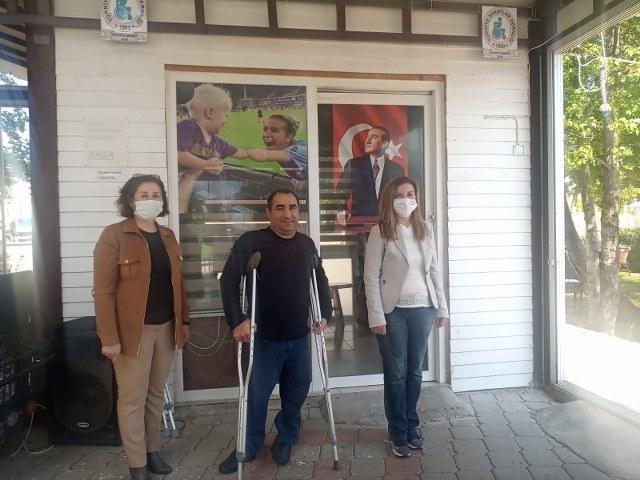 CHP'Lİ KADINLARDAN ZİYARET