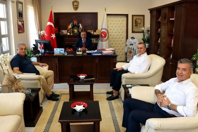 FTSO'dan Başsavcı Bingül'e Hayırlı Olsun Ziyareti