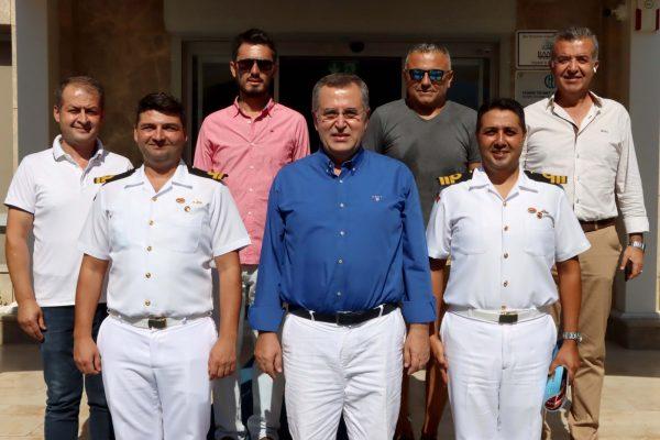 Fethiye Sahil Güvenlik Komutanı, Başkan Çıralı'yı Ziyaret Etti