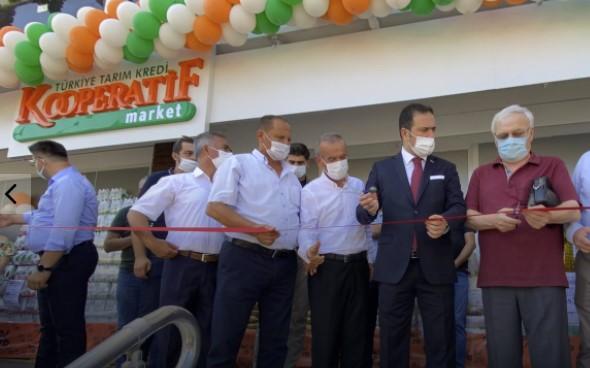 Fethiye'de İkinci Tarım Kredi Kooperatifi Marketi Açıldı
