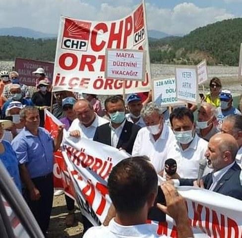 """CHP'li Erbay; """"Akköprü Barajı'nı da sattınız. Yazıklar olsun!"""""""
